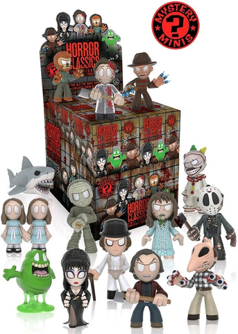 Horror Classics - Hot Topic Exclusive Mystery Mini Blind Box Figures Series 3: Case of 12 Blind Boxes