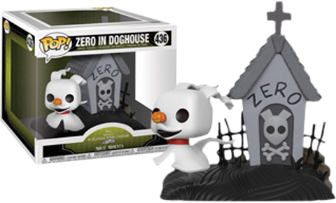 The Nightmare Before Christmas - Zero in Doghouse Movie Moment Pop! Vinyl Figure - Pre-Order