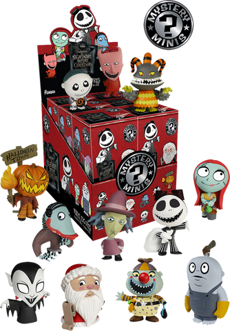 Nightmare Before Christmas - Series 2 Mystery Minis Case Of 12 Blind Boxes