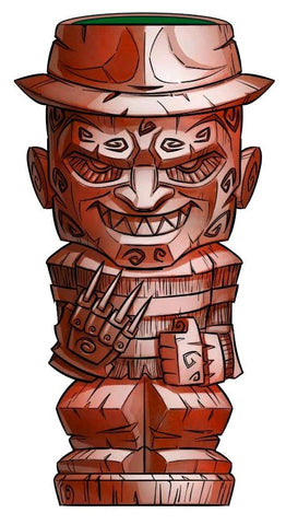 A Nightmare on Elm St - Freddy Geeki Tikis Mug - Pre-Order