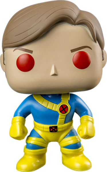 X-Men - Unmasked Red Eye Cyclops Pop! Vinyl Figure