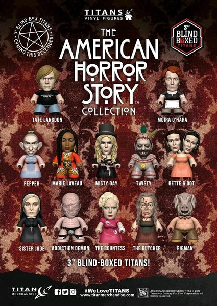 American Horror Story - Titans Mystery Mini Blind Box Case of 18 Figures