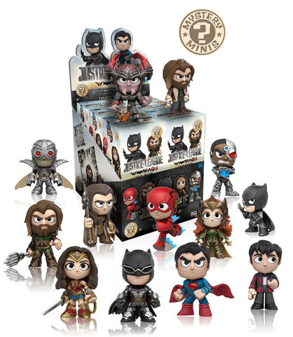 Justice League (2017) - Mystery Minis Case Of 12 Blind Boxes - Pre-Order