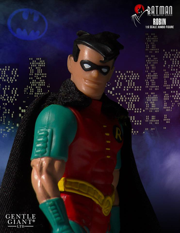 "Batman: The Animated Series - Robin 1:6 Scale 12"" Jumbo Kenner Action Figure"
