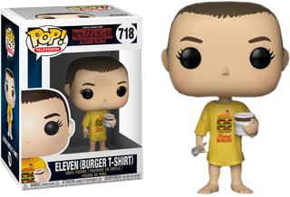 Stranger Things - Eleven in Benny's Burgers T-Shirt Pop! Vinyl Figure