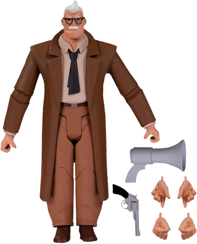 Batman: The Animated Series - Commissioner Gordon Figure