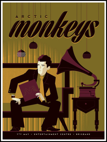 Arctic Monkeys - Brisbane 2014 Limited Edition Print