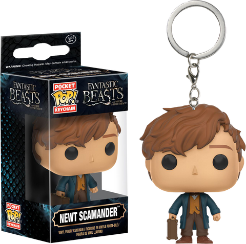 Fantastic Beasts and Where to Find Them - Newt Pocket Pop! Vinyl Keychain