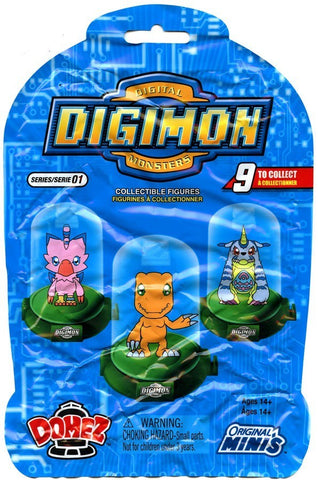 Digimon - Domez Mystery Mini Blind Bags Series 1