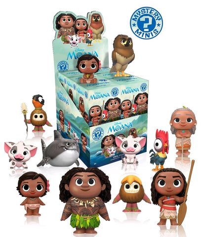 Moana - Mystery Mini Blind Box Case of 12 Figures