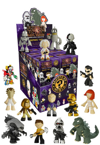 Classic Sci-Fi - Mystery Minis Vinyl Figure Blind Box Series 2 (Case of 12) - Pre-Order