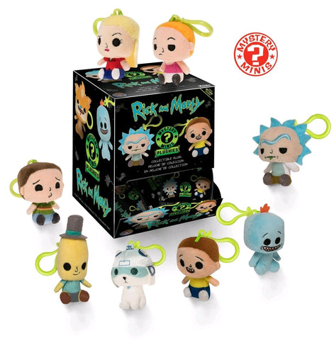 Rick and Morty - Hot Topic Exclusive Plush Mystery Mini Blind Box Case of 12 Figures - Pre-Order