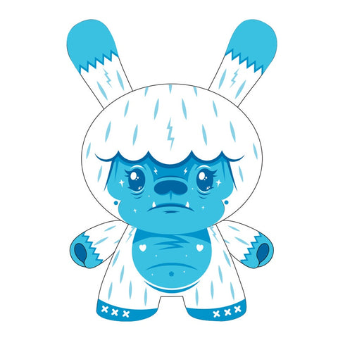 "Dunny - Kono the Yeti 8"" Dunny Vinyl Figure by Squink - Pre-Order"