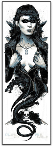 The Girl With The Dragon Tattoo - Rhys Cooper Limited Edition Print