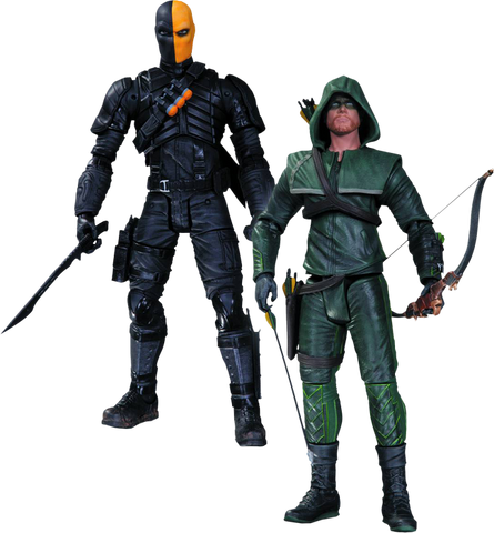 Arrow - Oliver Queen & Deathstroke Action Figures 2-Pack