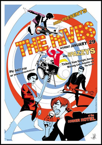 The Hives - Melbourne 2005 Limited Edition Print
