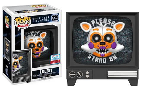 NYCC 2017 Exclusive - Five Nights at Freddy's Sister Location: Lolbit Pop! Vinyl Figure - Pre-Order