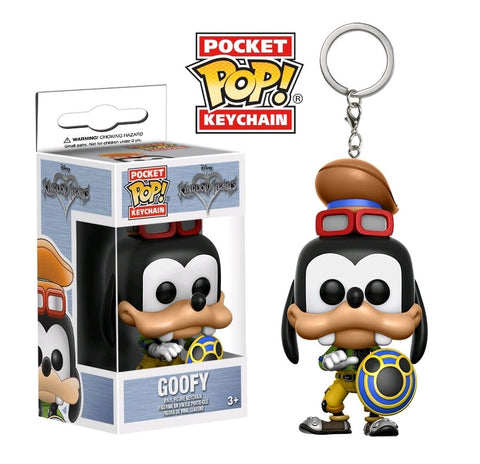 Kingdom Hearts - Goofy Pocket Pop! Keychain