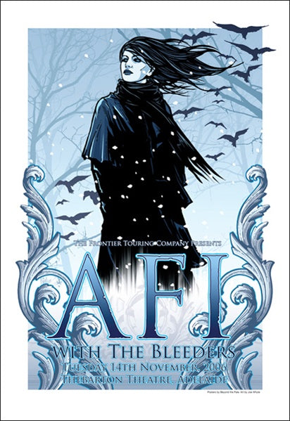 AFI & The Bleeders - 2006, Adelaide Limited Edition Print
