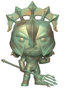 Aquaman Movie - Aquaman Gladiator Patina Pop! Vinyl Figure - Pre-Order