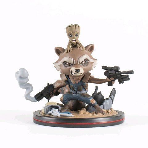 Guardians of the Galaxy: Vol. 2 - Rocket & Groot Q-Fig Figure - Pre-Order