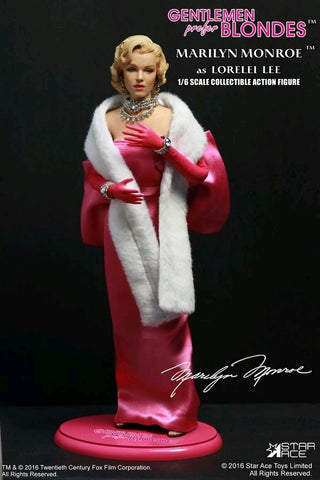 "Marilyn Monroe - Pink Dress 12"" 1:6 Scale Action Figure - Pre-Order"