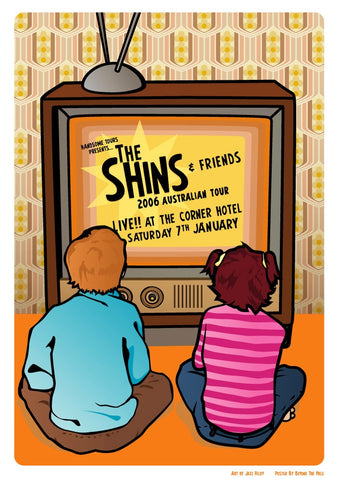 The Shins - Australian Tour 2006 Limited Edition Print