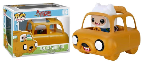 Adventure Time - Finn with Jake Car Pop! Vinyl Figure Ride
