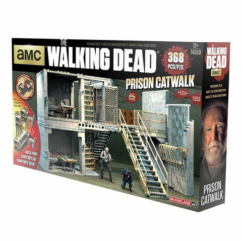 The Walking Dead - Prison Cell Catwalk Building Set