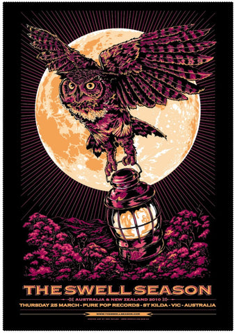 The Swell Season - NZ & Australian Tour 2010 Limited Edition Print