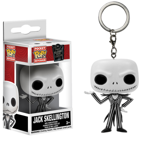 The Nightmare Before Christmas - Jack Skellington Pocket Pop! Keychain