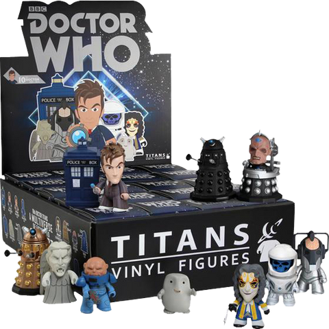 Doctor Who - Titans Series 2 Mystery Mini Blind Box Case of 20 Figures