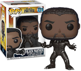 Black Panther - Black Panther Pop! Vinyl Figure (With Chance Of A Chase Variant) - Pre-Order
