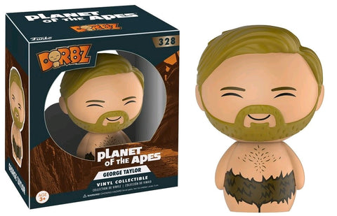 Planet of the Apes - George Taylor Dorbz Vinyl Figure - Pre-Order