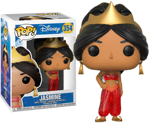Aladdin - Jasmine (Red Dress) Glitter Pop! Vinyl Figure