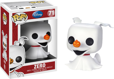The Nightmare Before Christmas - Zero Pop! Vinyl Figure