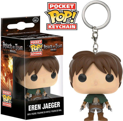 Attack on Titan - Eren Jaeger Pocket Pop! Keychain