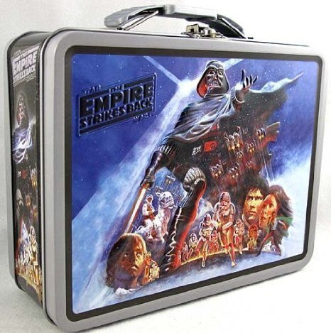 Star Wars - Large Embossed Tin Lunch Box: The Empire Strikes Back