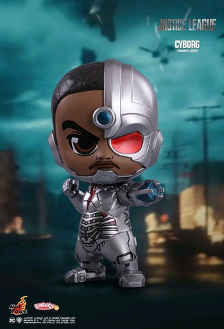 Justice League (2017) - Cyborg Cosbaby Hot Toys Figure - Pre-Order