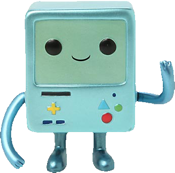 Adventure Time - BMO Metallic Pop! Vinyl Figure