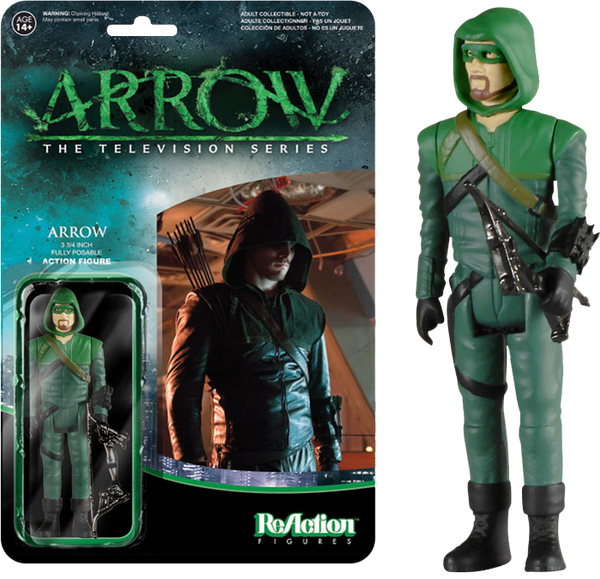 Arrow - Green Arrow ReAction Action Figure