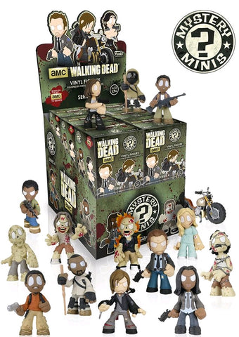 The Walking Dead - Series 4 Mystery Mini Blind Box Case of 12 Figures