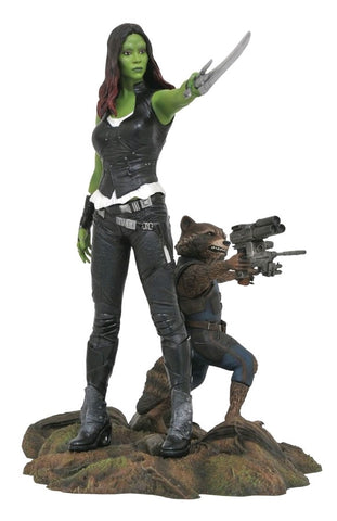 Guardians of the Galaxy: Vol. 2 - Gamora & Rocket PVC Diorama - Pre-Order