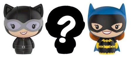 Batman - Catwoman, Batgirl & Mystery Pint Size Heroes 3-Pack - Pre-Order