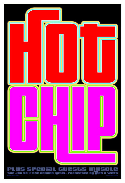 Hot Chip - Melbourne 2007 Limited Edition Print