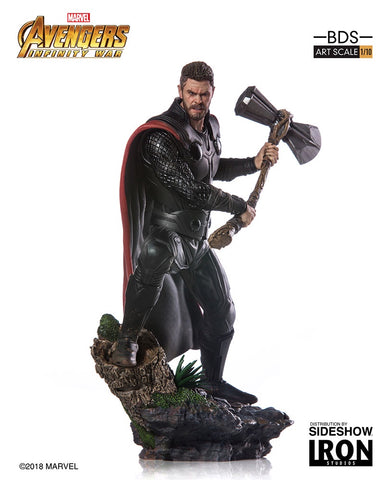Avengers: Infinity War - Thor 1:10 Scale Statue - Pre-Order