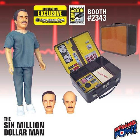 The Six Million Dollar Man - Dr. Wells Figure with Tin Tote - Convention Exclusive