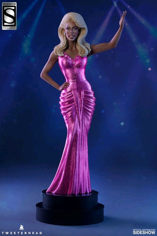 Drag Queens - RuPaul Pink Dress Version Maquette Statue - Pre-Order