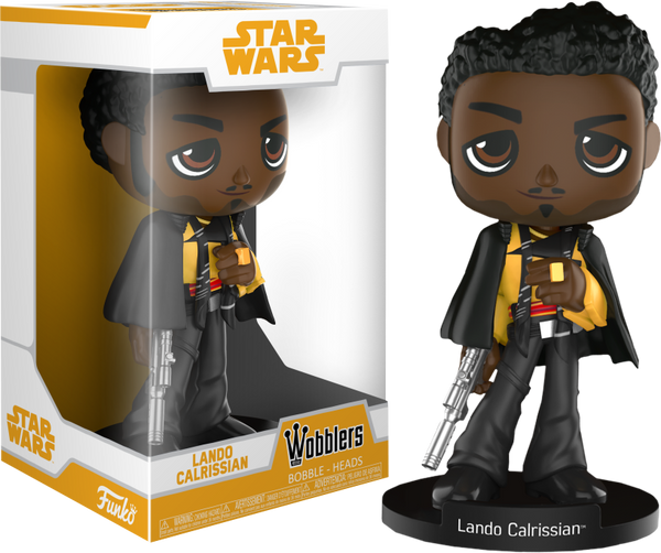 Star Wars: Solo - Lando Calrissian Wacky Wobbler Bobble Head - Pre-Order