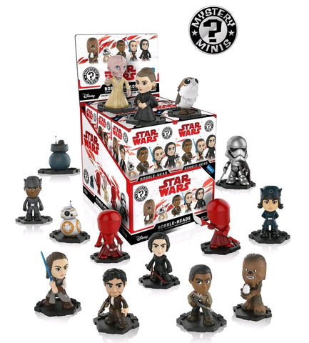 Star Wars Episode VIII: The Last Jedi - Walmart US Exclusive Mystery Minis - Case of 12 Blind Boxes - Pre-Order